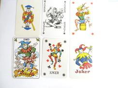 UN LOT N° 18 DE 6 JOKERS TOUS DIFFERENTS - Playing Cards (classic)