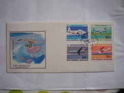 NOUVELLES-HEBRIDES - Bel FDC - 4 Avions - FDC
