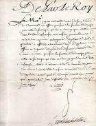De Par Le Roy  Versailles Le1 Juin 1760. - Documents Historiques