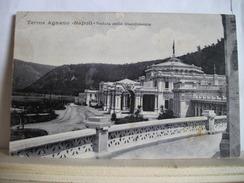 VG 1912 - Napoli - Terme Agnano - Veduta Dello Stabilimento - Bagni Fanghi Massaggi - Trampetti & Migliaccio -  2 Scans. - Napoli (Naples)