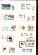 Classeur De 64 Pages Avec Env. 1500 Timbres De Différents Pays D'Europe Oblitérés Voir Descriptif - Briefmarken