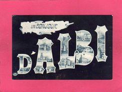 81 Tarn, Un Bonjour D'ALBI, Multivues, 1906, (Labouche) - Albi