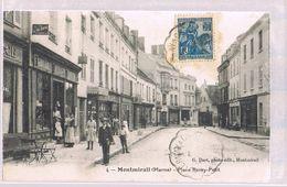MONTMIRAIL . Place Remy - Petit . - Montmirail