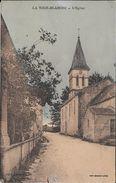 LA TOUR BLANCHE. L'eglise - France
