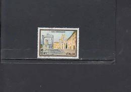 ITALIA  2002 - Sassone  2614° -  Turismo - San Gemignano - 6. 1946-.. Republic
