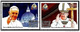 Sri Lanka - 2015 - Visit Of Pope Francis To Sri Lanka - Mint Stamp Set - Sri Lanka (Ceylon) (1948-...)