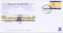 Envelop Dag Van De Postzegel 2002 (Zuid Holland) - Periodo 1980 - ... (Beatrix)