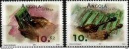 ANGOLA, 2001, DAY OF AFRICA, CE#1031-32, MNH - Angola