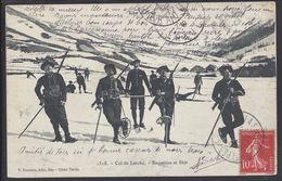 """FR - CPA 05  """"1318 - Col De Larche - Raquettes Et Skis"""" Ed. V. Fournier Gap - - Non Classés"""