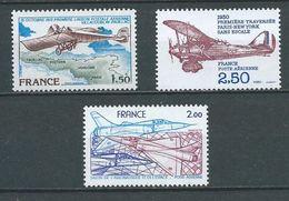 FRANCE 1976/81 . Poste Aérienne N°s  51 , 53 Et 54 Neufs ** (MNH) - Airmail