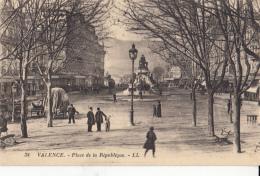 -26- Valence Place De La Republique - Valence