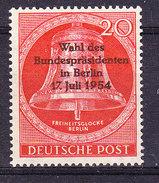 Berlin 1954 Wahl Der Bundespräsidenten In Berlin 1v ** Mnh (36657A) - [5] Berlin