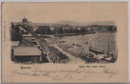 Geneve - Quai Des Eaux Vives - GE Genf