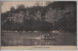 Geneve - Falaises Du Rhone - Cachet: Carouge - Photo: Jullien Freres No. 5137 - GE Genève
