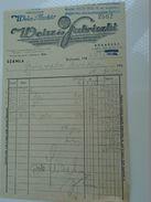 AD034.10 Hungary Old Invoice -Budapest - Clothes - 1947 Weisz és Fabriczki -Weisz Aladar - Grünwald Divathaz - Facturas & Documentos Mercantiles