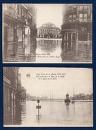 Liège. Lot De 10 Cartes. Crue De La Meuse. Décembre 1925- Janvier 1926 - Liege