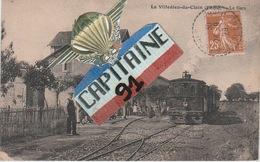 CPA LA VILLEDIEU DU CLAIN VIENNE LA GARE - La Villedieu Du Clain