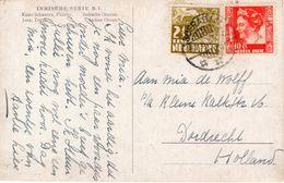 1939 Ansichtkaart Van Soerabaja Naar Dordrecht - Nederlands-Indië