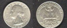 USA 1/4 Dollar 1986 D Schön 168 Vorzüglich D1-472 - Émissions Fédérales