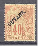 Guyane: Yvert 26* - Guyane Française (1886-1949)