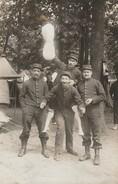 77 - FONTAINEBLEAU  - Militaires Du Régiment D'Infanterie ( Carte-photo ) - Régiments