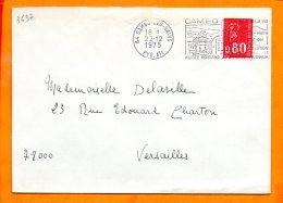 PYRENEES-ATLANTIQUES, Cambo Les Bains, Flamme SCOTEM N° 3637, Ville Fleurie - Oblitérations Mécaniques (flammes)