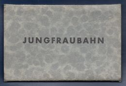 Suisse. Carnet De 12 Cartes. Chemin De Fer De La Jungfrau ( Kleine Scheidegg- Jungfrauloch - 9,3 KM - 1896-1912) - Chemins De Fer