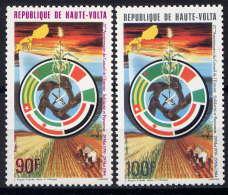 Hte VOLTA - 622/623** - 25è ANNIVERSAIRE DU CONSEIL DE L'ENTENTE - Upper Volta (1958-1984)