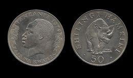 TANZANIE . 50 SHILINGI 1974 . - Tanzanie