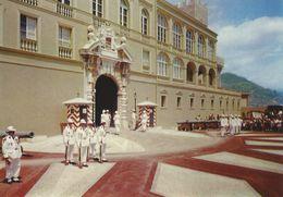 Palais Du Prince. La Releve De La Garde.  Monaco    # 07031 - Prince's Palace