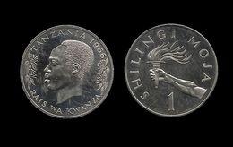 TANZANIE . 1 SHILINGI 1966 . - Tanzanie