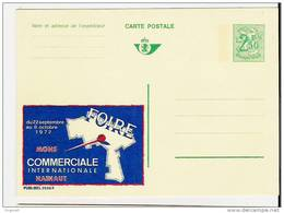 Publibel Neuve N° 2528 (Foire Commerciale De MONS Du 22/09 Au 08/10 1972 - Interi Postali