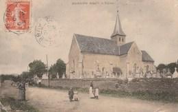 BERNON - L'EGLISE - BELLE CARTE ANIMEE - - Other Municipalities