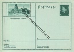 Darmstadt - Bildpostkarte 1930 - Ganzsache - Germania