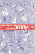 France Buvard  Pile Hydra ( Pliure ) 20,5 Cm X 13 Cm - Accumulators