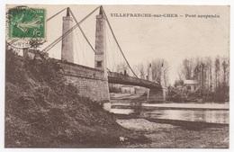 41 LOIR ET CHER - VILLEFRANCHE SUR CHER Pont Suspendu - Frankreich
