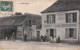 """LES ESSARTS-le-ROI  -  L'ARTOIRE  -  Hôtel, Restaurant """" F. LATOUCHE """" - Route De Rambouillet - Les Essarts Le Roi"""