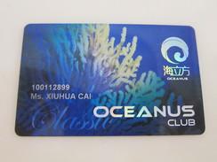 Macau Casino Oceanus Club Card - Casino Cards