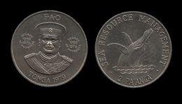 TONGA . 2 PA'ANGA . 1979 . F.A.O . - Tonga