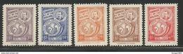 1950 Bolivia UPU   Complete Set Of 5  MNH - Bolivien