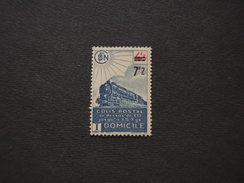 FRANCIA - PACCHI FERROVIARI 1945 LOCOMOTIVA  7,2su4,3 -NUOVI(++) - Colis Postaux