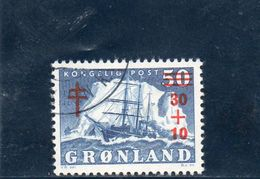 GROENLAND 1958 O - Groenlandia