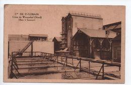 Cie DE SAINT GOBAIN - USINE DE WASQUEHAL (59) - BAC A SAUMURE - France