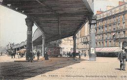¤¤  -   PARIS  -  Le Métropolitain , Boulevard De La Villette   -  ¤¤ - Arrondissement: 19
