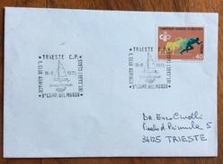 VELA TRIESTE Y.C.ADRIATICO  9 CAMPIONATO DEL MONDO INT.CADET CLASS  ANNULLO SPECIALE 16/8/1975 - Pallavolo