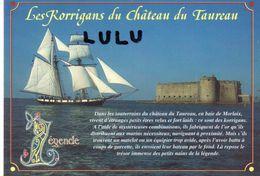 DEPT 29 : édit. Jos Le Doaré A Chateaulin : Plouezoc H , Baie De Morlaix Les Korrigans Du Château Du Taureau - France