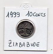 Zimbabwe - 1999 - 10 Cents - Vedi Foto - (MW331) - Zimbabwe
