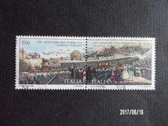 Italie - 150ème Anniversaire Naples - Trains