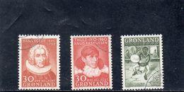 GROENLAND 1958-61 O - Groenlandia