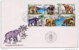 Vietnam 1991 FDC - Postzegels